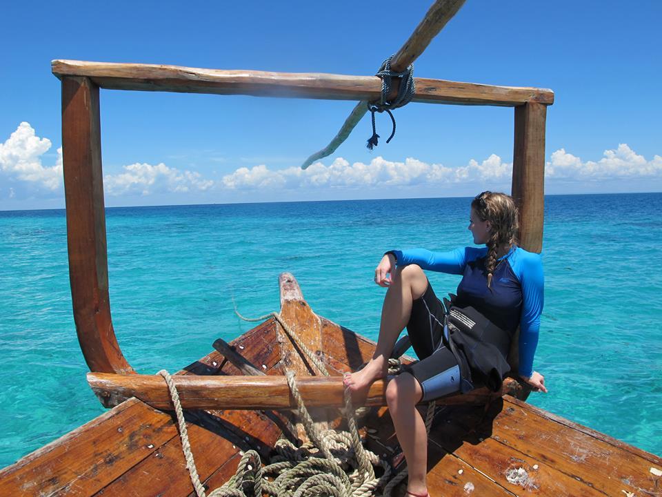 Tanzania Boat Tropical Ashlyn George